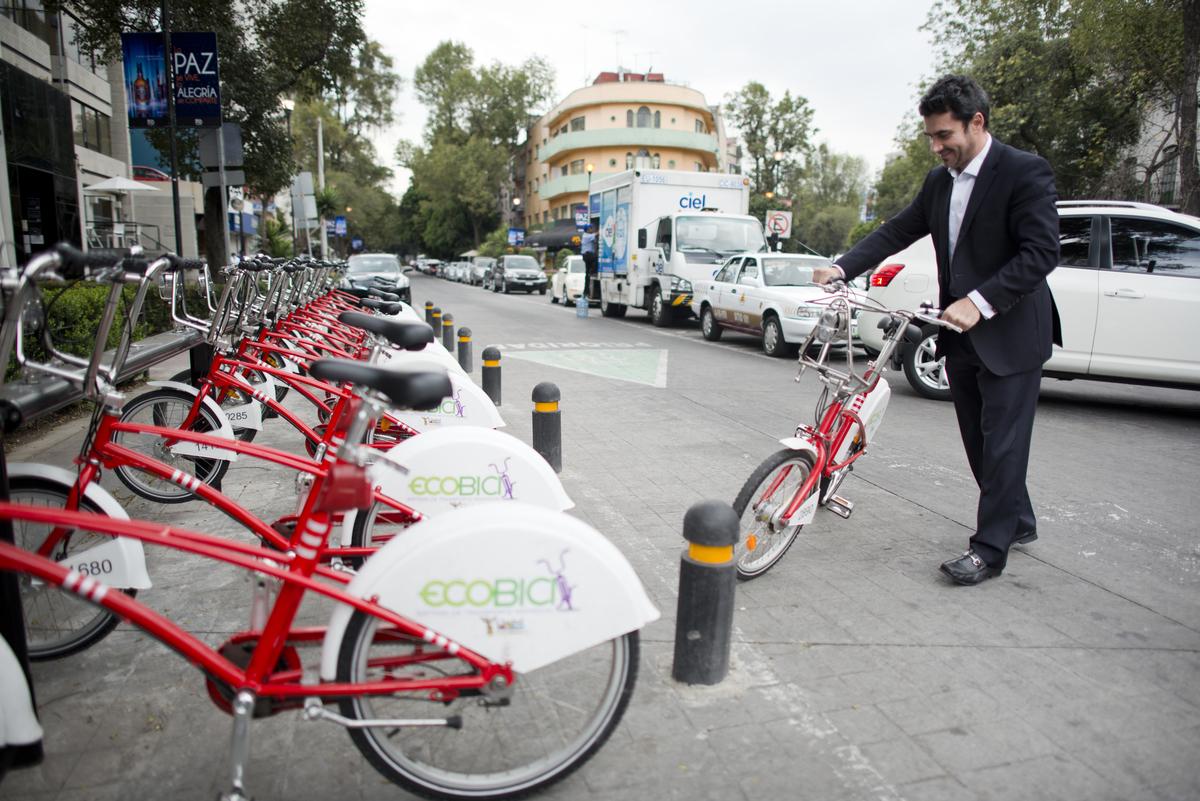 Ciclismo en la Ciudad de México