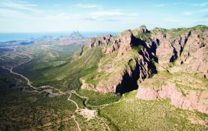 Cañón del Nacapule, Sonora.