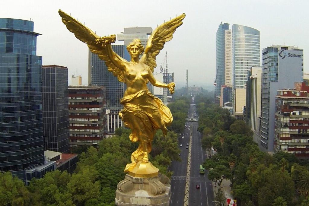 Conoce paseo de Reforma en CDMX