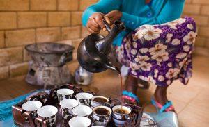 ceremonia del café Etiopía