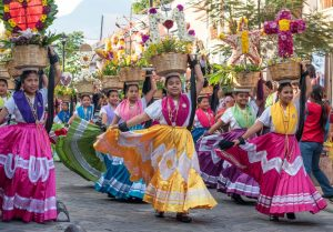 Baile tradicional oaxaqueño