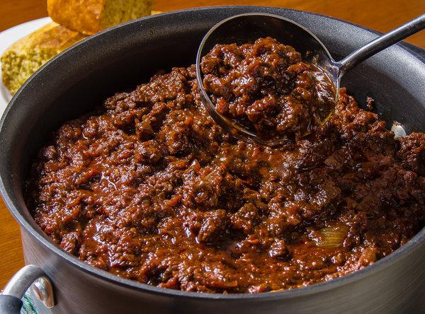 Las comidas Tex-Mex: chili