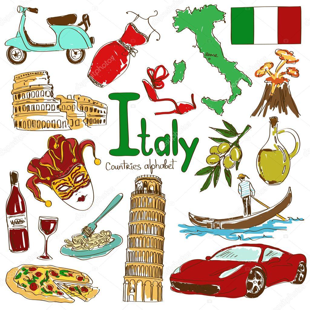 dibujos italianos