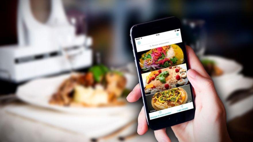 una de las aplicaciones de comida gratis
